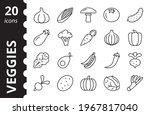 vegetables  veggies line icon...   Shutterstock .eps vector #1967817040