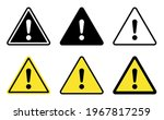exclamation mark of warning... | Shutterstock .eps vector #1967817259