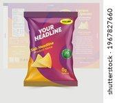 potato chips package design ... | Shutterstock .eps vector #1967827660