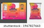 potato chips package design ... | Shutterstock .eps vector #1967827663