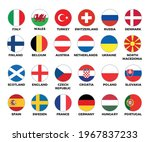 set of national flags of... | Shutterstock .eps vector #1967837233