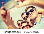summer  holidays  vacation and... | Shutterstock . vector #196784033
