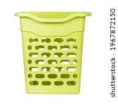 empty green plastic laundry... | Shutterstock . vector #1967872150