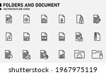 folders and document icons for...   Shutterstock .eps vector #1967975119