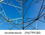 power tower with the sky... | Shutterstock . vector #196799180