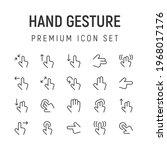 premium pack of hand gesture...