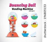 Vending Machine Toys   Vector...