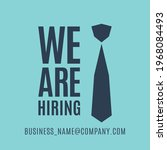 we are hiring. the business...   Shutterstock .eps vector #1968084493