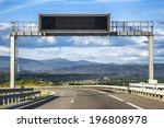 led traffic road signs | Shutterstock . vector #196808978