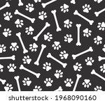 vector seamless fabric texture. ...   Shutterstock .eps vector #1968090160