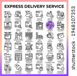 express delivery service...