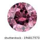 Pink Diamond On White...