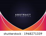 abstract black and gradient... | Shutterstock .eps vector #1968271339