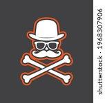 vector black sticker symbol...   Shutterstock .eps vector #1968307906