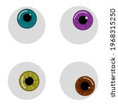 Vector Eyeballs For Halloween...