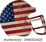 helmet of american football... | Shutterstock .eps vector #1968323620