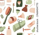 eco bathroom accessories and... | Shutterstock .eps vector #1968404770