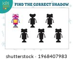 find two same pictures kids... | Shutterstock .eps vector #1968407983