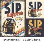 set of poster  emblem or t... | Shutterstock .eps vector #1968435046