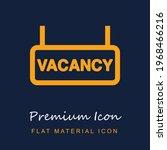 vacancy sign premium material...