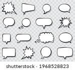 speech bubble  speech balloon ... | Shutterstock .eps vector #1968528823
