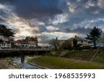 View Across The Seaside Town Of ...