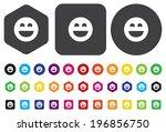 smiley face | Shutterstock .eps vector #196856750