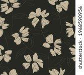 green floral botanical seamless ...   Shutterstock .eps vector #1968590956
