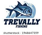 vector of giant trevally... | Shutterstock .eps vector #1968647359