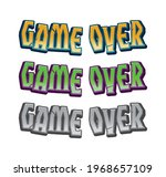 game over icon for ui game....
