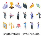 successful career icons set....   Shutterstock .eps vector #1968736606