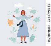 cartoon vector illustration of... | Shutterstock .eps vector #1968795856