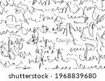 grunge texture of an unreadable ...   Shutterstock .eps vector #1968839680