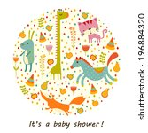 baby background | Shutterstock .eps vector #196884320