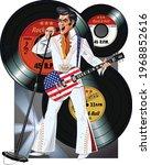 illustration of country music... | Shutterstock .eps vector #1968852616