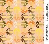 vector modern seamless... | Shutterstock .eps vector #1968881059