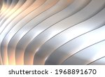 abstract silver layers... | Shutterstock .eps vector #1968891670