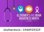 alzheimer's and brain awareness ...   Shutterstock .eps vector #1968935329