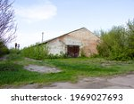 Old Brick Houses Abandoned...