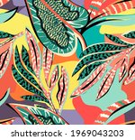 Tropical Pattern With...