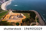 Arial View Of Shore Temple Of...