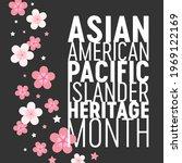 asian american pacific islander ... | Shutterstock .eps vector #1969122169