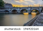 Long Exposure Of Pont Neuf At...