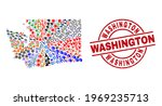 washington state map collage...   Shutterstock .eps vector #1969235713