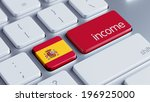 spain high resolution income... | Shutterstock . vector #196925000