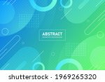 abstract geometric shapes... | Shutterstock .eps vector #1969265320