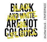 graffiti black and white slogan ...   Shutterstock .eps vector #1969309603