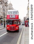 london   may 21  red double... | Shutterstock . vector #196935899