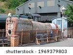 Steam Locomotive Boiler Under...