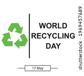 world recicling day symbol ...   Shutterstock .eps vector #1969457689